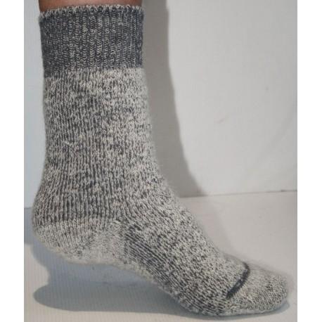 Les chaussettes de montagne en laine mohair