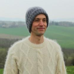 Bonnet homme Bonchô en laine mohair