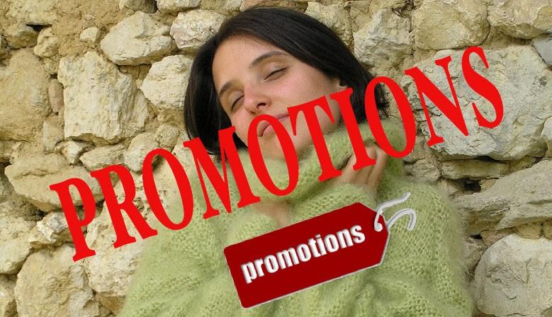 promotions en laine mohair