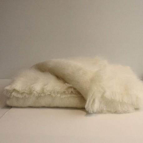 Les couvertures en laine mohair