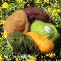 Les pelotes mohair tendresse en pure laine mohair de chevreau pour des ouvrages chauds